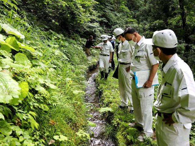 大柳地区エンマ谷地付近水路整備要望